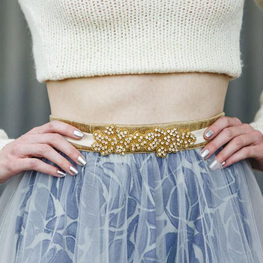 Gold Mia Belt Belts Jolie